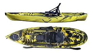 Caiaque De Pesca Robalo Pro C/ Remo - Caiaker