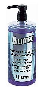 Sabonete Líquido Desengraxante Concentrado V+ Limpo 1 Litro