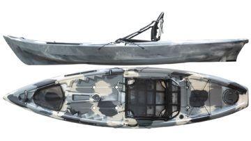 Caiaque Tuna PRO Cinza camuflado - Hidro 2 Eko
