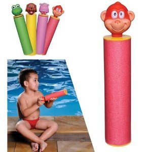 Brinquedo lança água - HIPOPÓTAMO - MOR