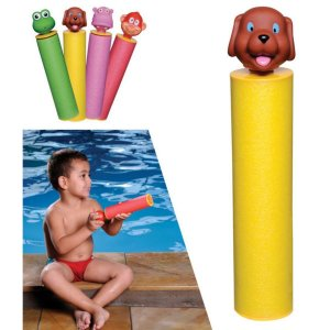 Brinquedo piscina, Lança água  - CACHORRO - MOR