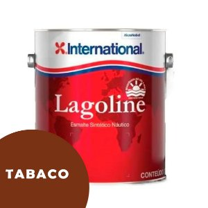 Tinta P/ Barco Esmalte Sintético Náutico Lagoline 3,6 Litros - TABACO