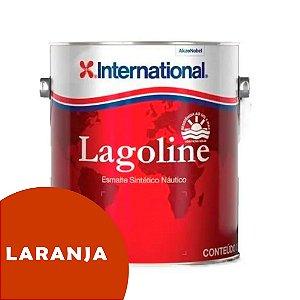 Tinta P/ Barco Esmalte Sintético Náutico Lagoline 3,6 Litros - LARANJA
