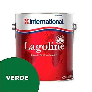 Tinta P/ Barco Esmalte Sintético Náutico Lagoline 3,6 Litros - VERDE