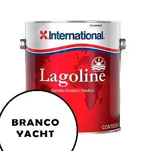 Tinta P/ Barco Esmalte Sintético Náutico Lagoline 3,6 Litros - BRANCO YACHT