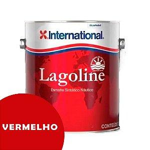 Tinta P/ Barco Esmalte Sintético Náutico Lagoline 3,6 Litros - VERMELHO