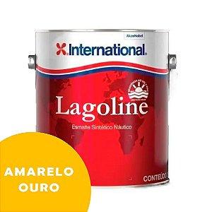 Tinta P/ Barco Esmalte Sintético Náutico Lagoline 3,6 Litros - AMARELO OURO