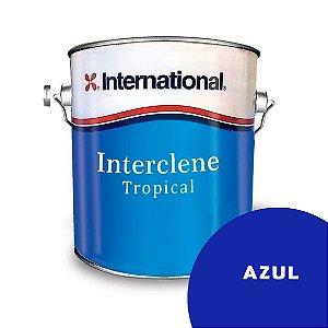Interclene Tinta Antiincrustante 3,6L International - AZUL