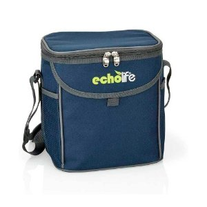 Bolsa Termica Echolife com Alca Ajustavel Azul 9L BT0007