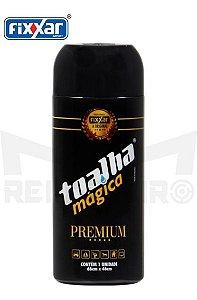 kit 50 Toalha Mágica Fixxar Premium 66 X 46 Cm Amarela