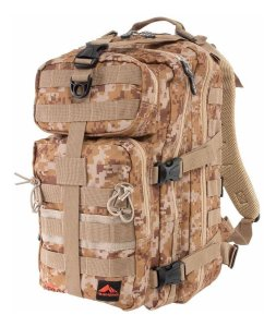 Mochila Crampon Army Camuflada 26 Litros - Trilhas E Rumos