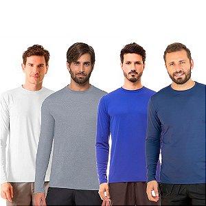 Camisa Proteção Solar Manga Longa Uvpro - Uv Line
