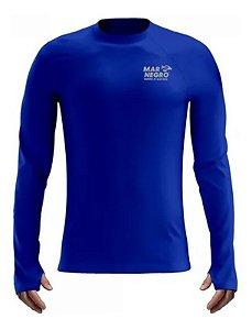 Camiseta Infantil Mar Negro Proteção Uv50 -  Piscina Mar