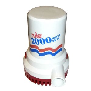 Bomba De Porão 2000 Gph - 12v - Rule
