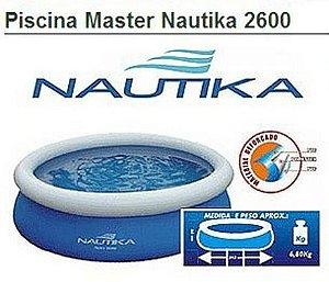 Piscina Inflável Master Nautika Inflável 2600 L
