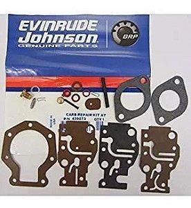 Reparo Do Carburador Evinrude Johnson 15 Hp Ano 93