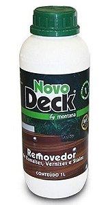 Removedor De Tintas E Vernizes Novodeck 1 Litro Montana