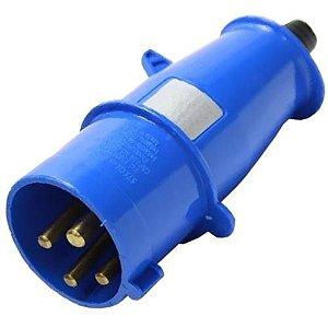 Plugue 3p+t 16a 220/240v 9h Azul - S-4079 - Steck