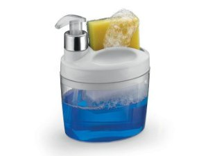 Porta Detergente E Bucha Liquido Com Bico Dosador - Arthi