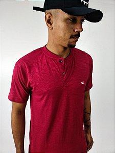 Camiseta Botão Vermelha - CO Oficial