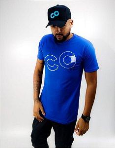 Camiseta Logo CO Azul - CO Oficial