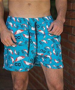 Shorts Guarda-Sol CO Oficial - Azul