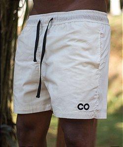 Shorts Basic CO Oficial - Off White