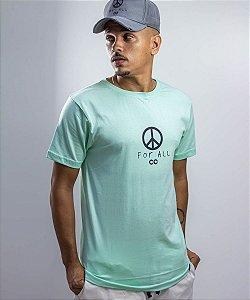 Camiseta PEACE Verde - CO Oficial