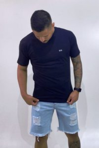Camiseta BASIC CO Azul - CO Oficial