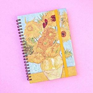 Sketchbook Girassóis - Coleção Van Gogh