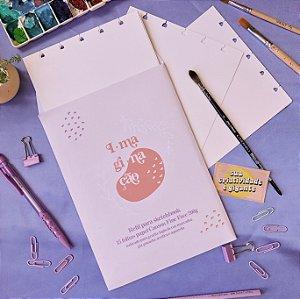 Refil Imaginação - Papel aquarela 200g para sketchbook espiral