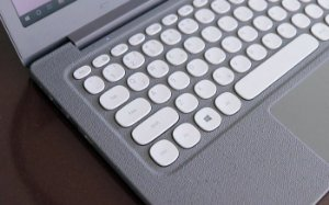 Teclado Samsung Notebook Flash F30 NP530XBB-AD1BR CINZA ABNT2