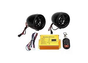 Caixa Bluetooth para moto com alarme-RMJ