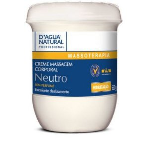 Creme de Massagem Neutro 650g