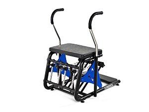 Aparelho de Pilates Cadeira Combo Step Chair Cross com Acrílico