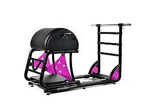 Aparelho de Pilates Ladder Barrel Cross com Acrílico