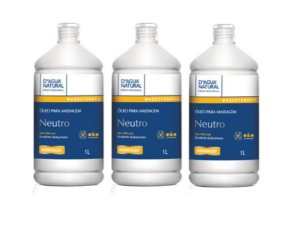 Kit Com 3 Óleo Neutro Massagem D'agua Natural