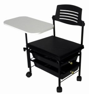 Cadeira Cirandão 2 Gavetas Plásticas Para Manicure