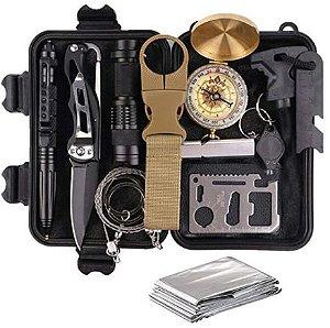 Kit Sobrevivencia Militar