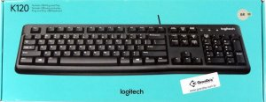 Teclado Logitech K120, ABNT2