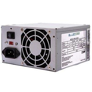Fonte Bluecase Blu 230-E ATX Small, 230W com Cabo - BLU230ECASE