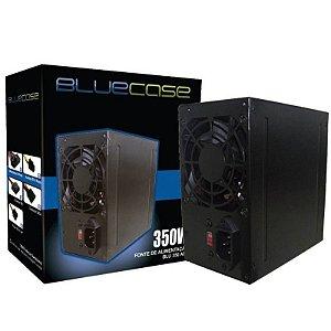 Fonte Bluecase Blu 350-E ATX, 350W com Cabo - BLU350ECASE