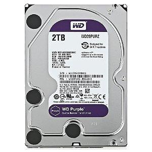 HD WD Purple Surveillance 2TB 3.5 SATA  WD20PURZ