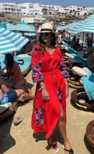 Vestido Marrocos