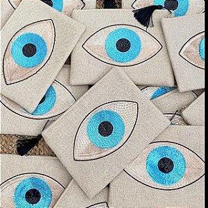 Clutch Linhão Olho Grego