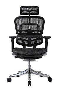 Cadeira Presidente Raynor Eurotech Ergochair Elite V2 Versão 2022