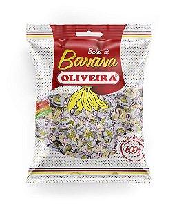 Bala de Banana Oliveira 600g.