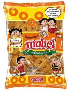 Rosquinha de Coco Mabel 500gr