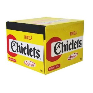 Chiclets Adams c/ 100 unid. Sabores