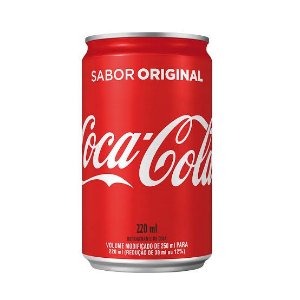 Coca Cola Mini Lata 220ml.